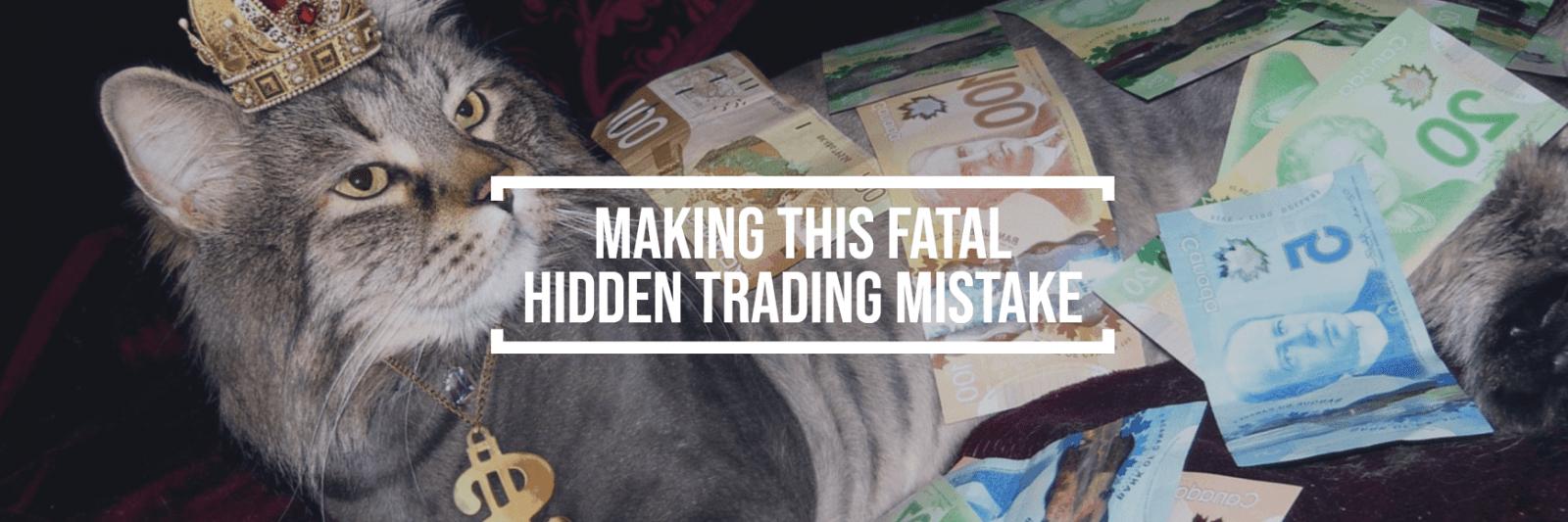 Vermeiden Sie diesen fatalen Handelsfehler